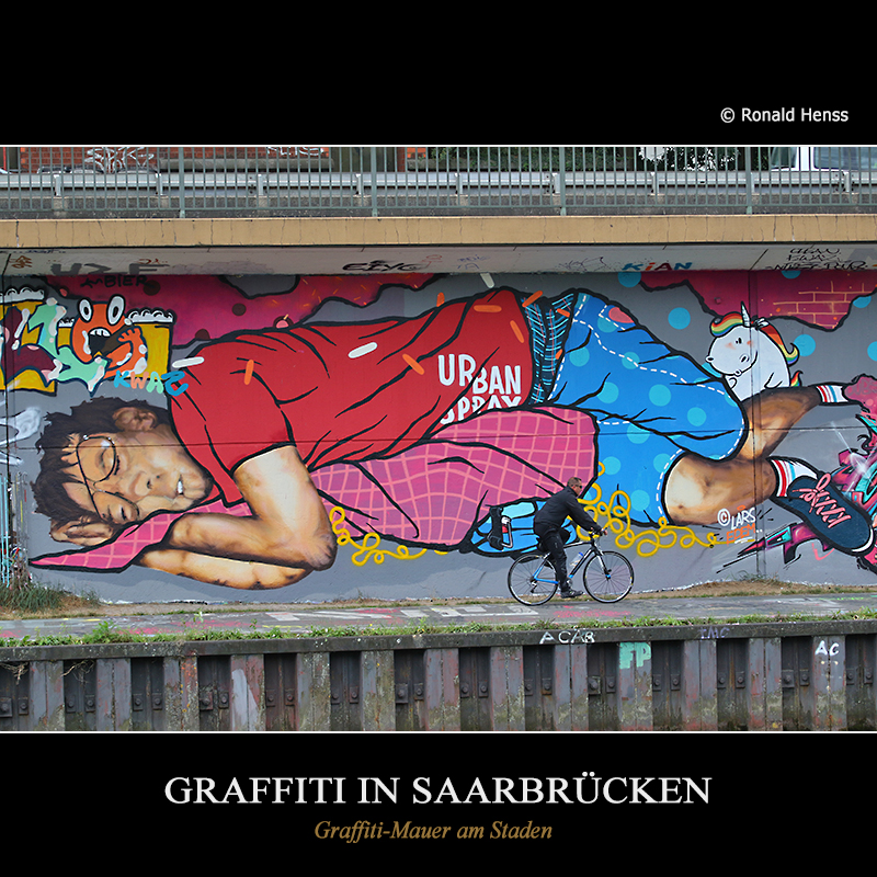 Graffiti in Saarbrücken